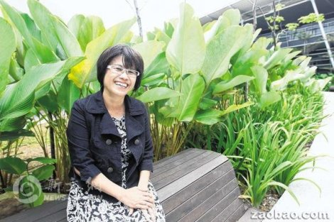 图片 : 罗艳凤是今年家庭暴力对话小组感谢奖获奖者之一。(陈斌勤摄)