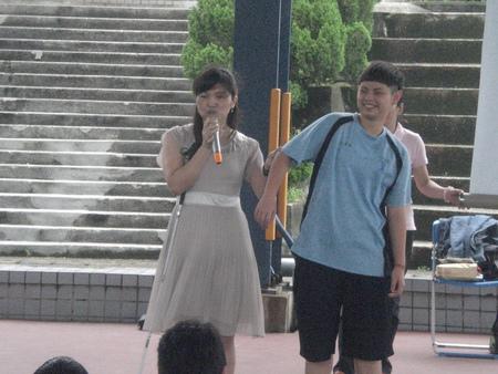 「我想要让别人看到视障朋友也可以表现得很棒!」黄舒芸说。