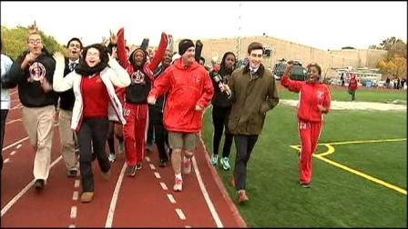 School Principal Ran 100 miles