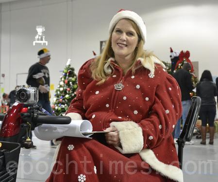 Family Giving Tree首席执行长Jennifer Cullenbine。(杨帆/大纪元)