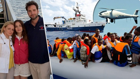 150422 US-Millionair saves migrants in the sea