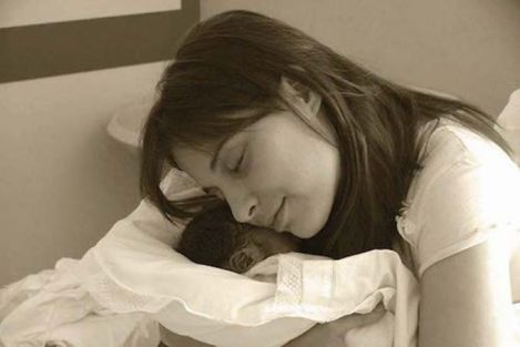 Chiara Corbella Petrillo with her son, Davide. Courtesy of Sophia Institute Press.