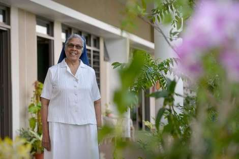 Sister Gerard Fernandez, who counselled Tan Mui Choo and Hoe Kah Hong on death row, believes Satan exists in the world and is able to get a hold on individuals who are not careful.ST PHOTO: JAMIE KOH