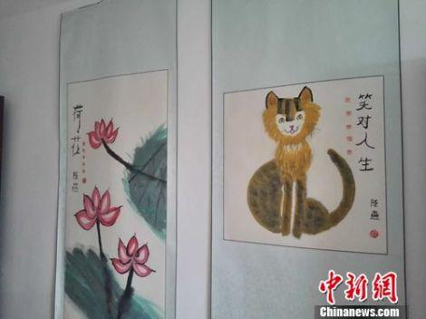 陈燕的绘画作品